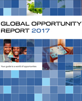 Frontpage of the Global Opportunity Report 2017