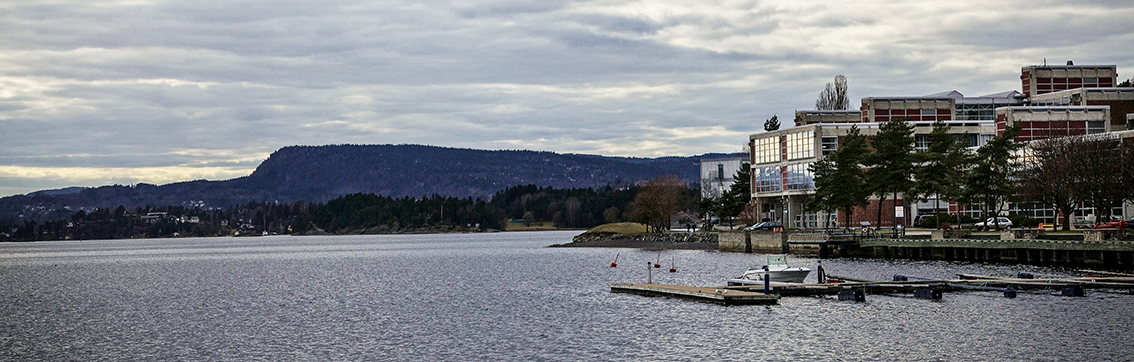 Headquarter at Høvik seen from the seaside