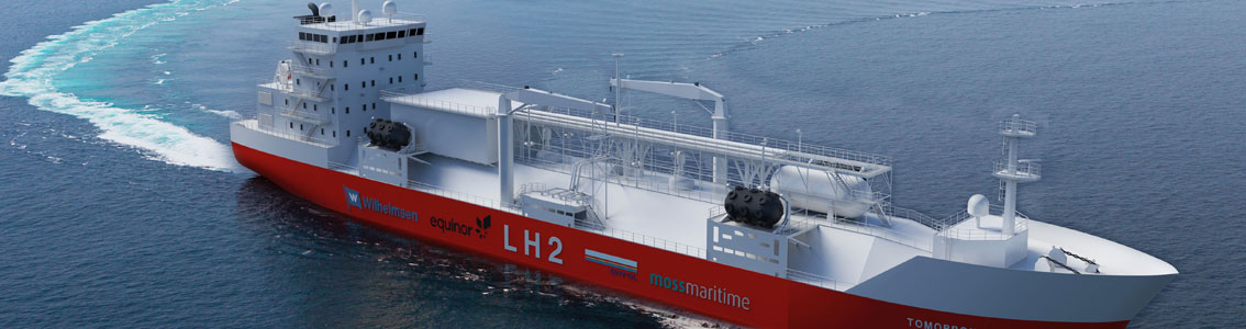 Hydrogen Ship collaboration between Moss Maritime, Equinor, Wilhelmsen and DNV GL