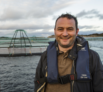 Kim André Karlsen, account manager with responsibility for salmon farming in DNV GL