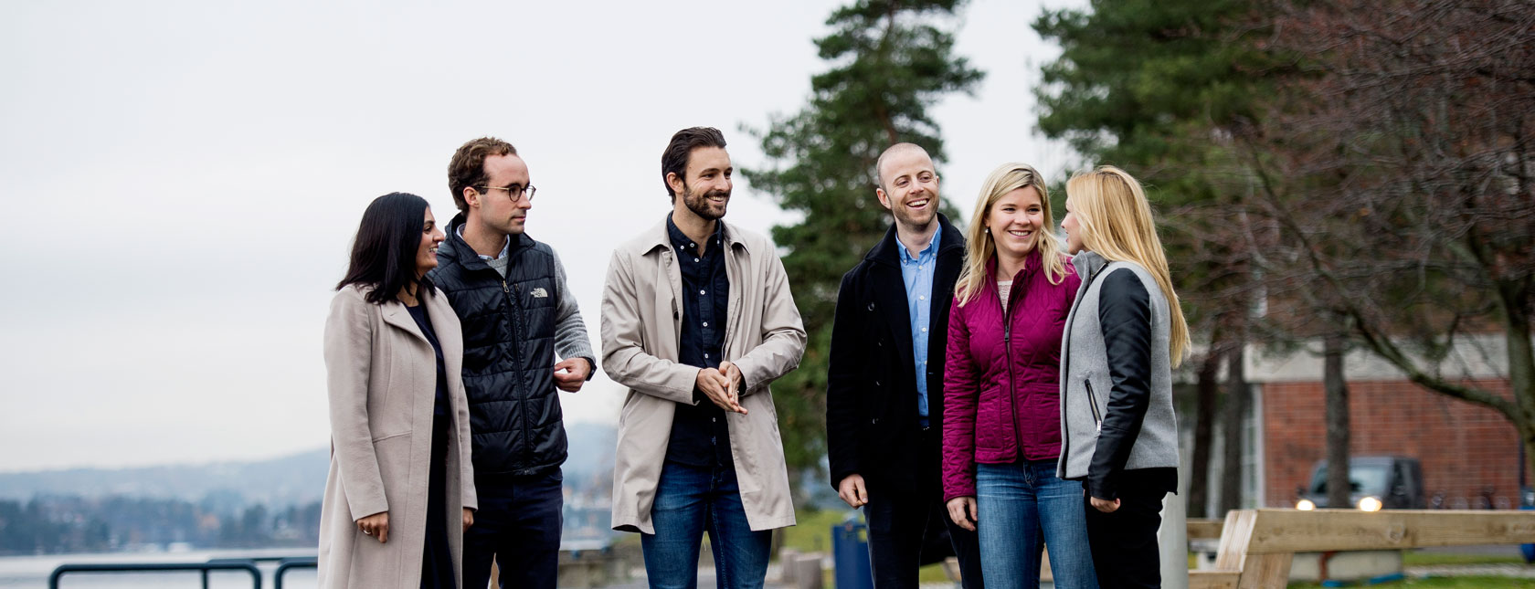 Meet our people: colleagues by the fjord at DNV GL head office, Oslo