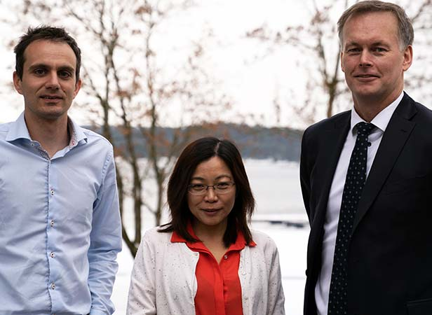 Kenneth Vareide, Kai-Jia Han and Laurens Alblas