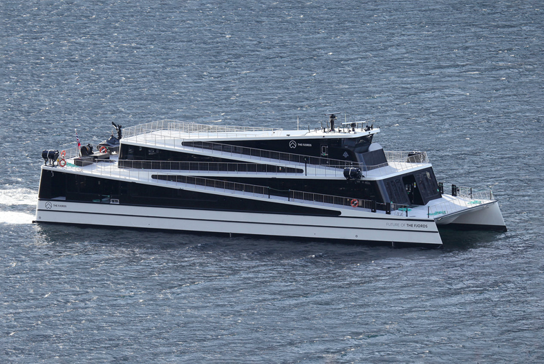 Future of the Fjords electric ferry